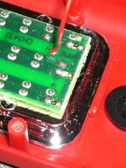 LED equalizing resistors