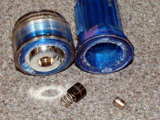 Broken flashlight case