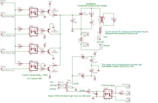 Triac Drive Schematic