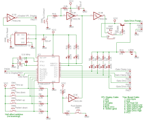 Timing Controller Schematic