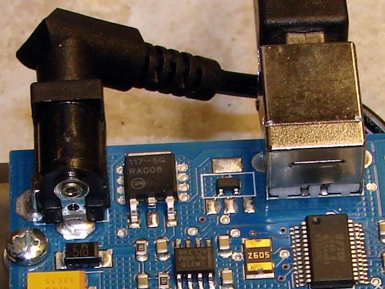 Arduino Mega: Voltage Regulator Heatsink | The Smell of