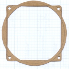 Air flow straightener gasket
