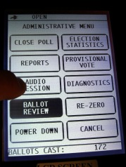 Voting machine LCD miscalibration - BMD Audio Session