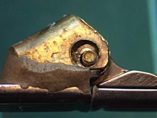 Sunglass hinge screw - loose
