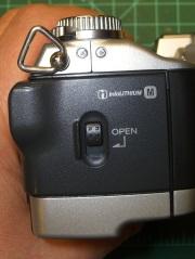 DSC-F717 case screws - right side