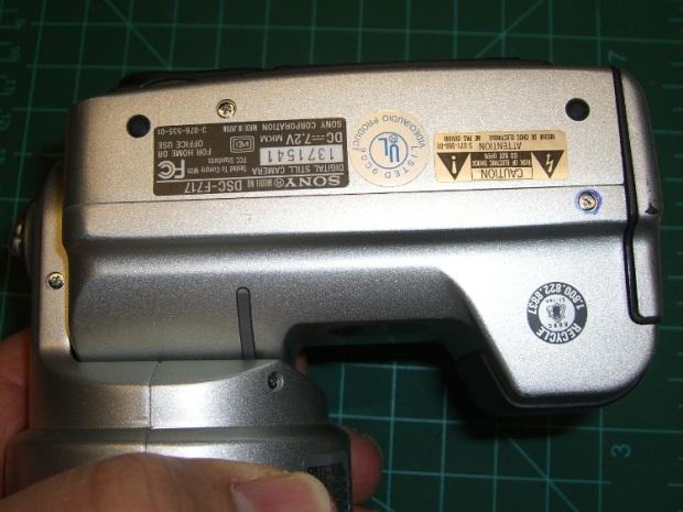 DSC-F717 case screws - bottom