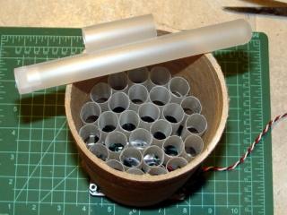 Air straightener - cigar tubes