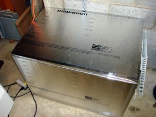 Hot box exterior