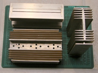 Heatsinks ready for reuse