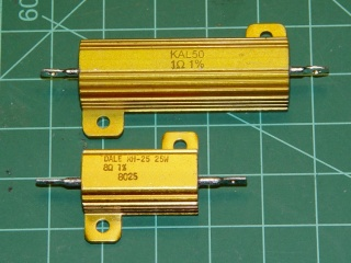 Aluminum housed resistors