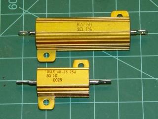 Aluminum housed resistors