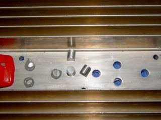 Heatsink hole plugs