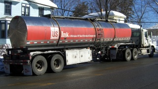 US Ink Delivery Truck