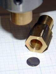 Laser aligner polarizing filter detail