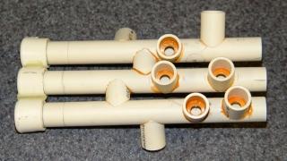 CPVC trumpet valve assembly
