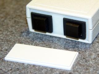 Pactec box - printed panel