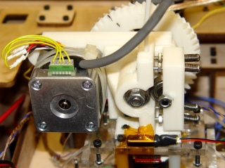 Complete Geared Stepper Extruder