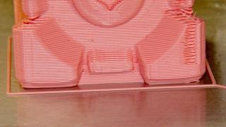 Companion Cube - build detail
