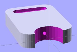 Pin holder - OpenSCAD model