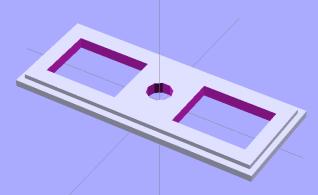 Thermal Cutout Box - switch plate model