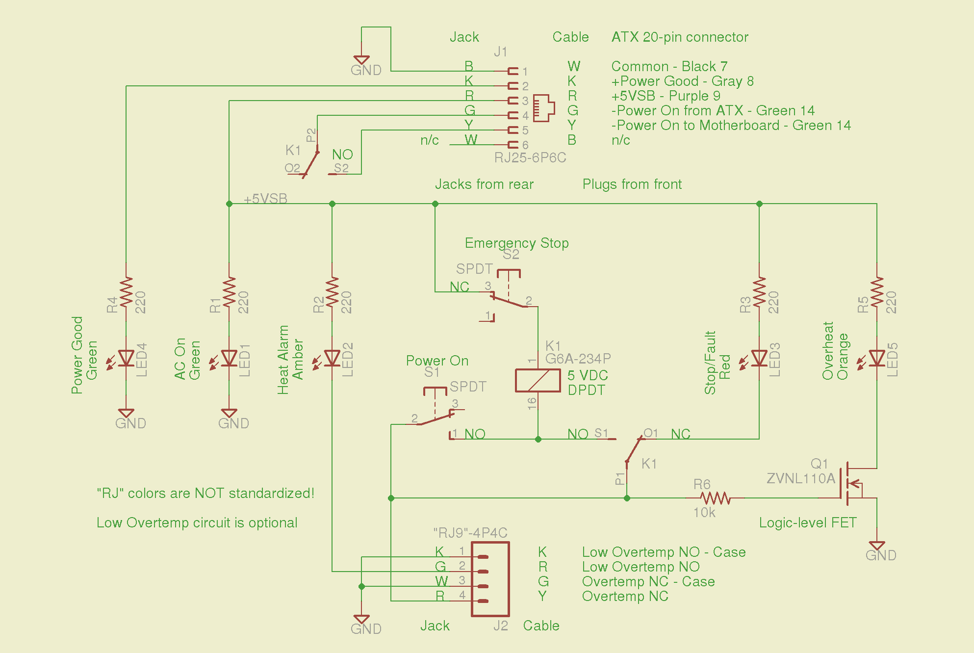 14 March 2011 The Smell Of Molten Projects In Morning 4p4c Connector Wiring Diagram Thermal Lockout Schematic