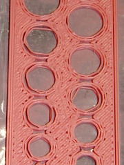 Polyholes 0.33 mm layer - 0.5 mm starting height