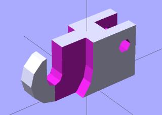 Thumbwheel holder - build model