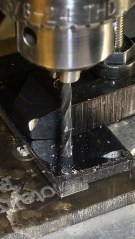 Drilling thin sheet metal