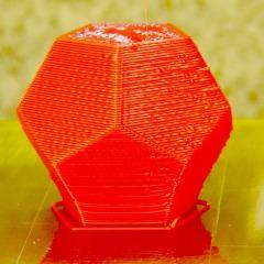 Dodecahedron - 20 mm per sec