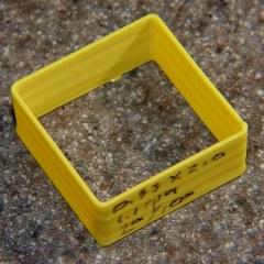 Thin wall box - yellow 1.10 rpm 0.33 x 0.66 mm