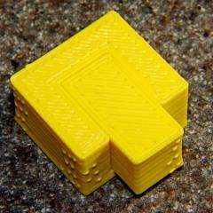 Perimeter Calibration Block - yellow 1.10 rpm 0.33 0.66 mm