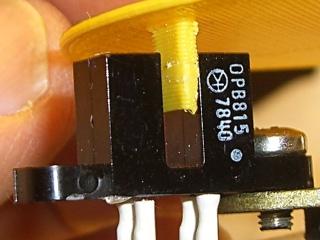 OPB815 Optical Interrupter Switch - detail