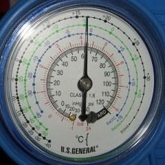 Harbor Freight AC Low Pressure Gauge