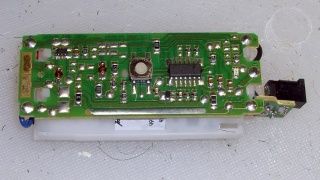Beard trimmer - battery charger PCB
