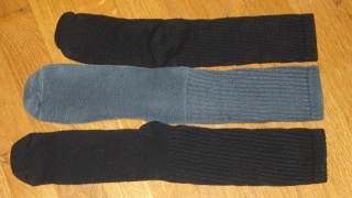Dockers sock size variation