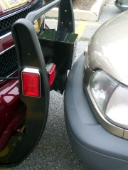 EMS Medic parking - bumper detail