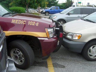 EMS Medic parking - position detail