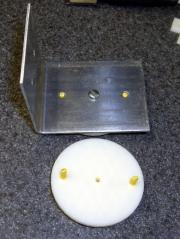 Filament spool axle endplate