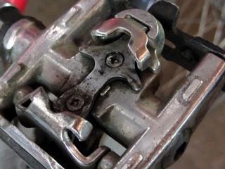 SPD pedal screws