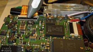 EX-Z850 connector repair