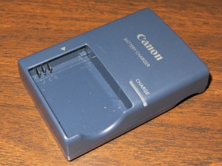 Canon NB-5L charger