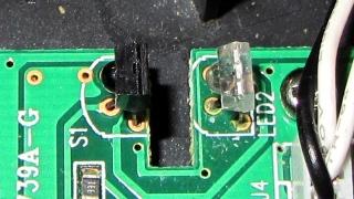Scroll ring IR emitter-detector quadrature pair