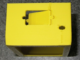 KG-UV3D box - connector hole support removal