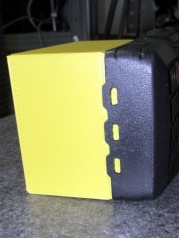 KG-UV3D Interface Box prototype - end tabs