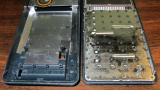 HP-48GX case rivets