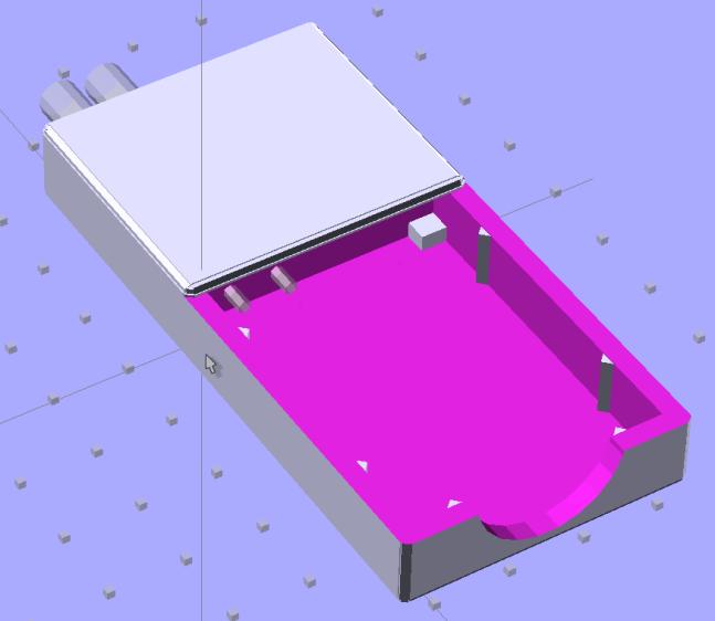 NB-5L Holder - Coil spring - Fit layout