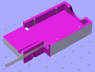 NB-5L Holder - Internal spring - solid model