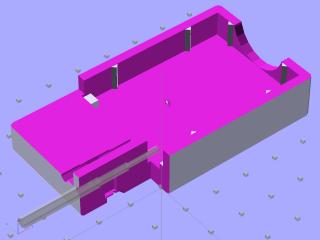 Plug spring - solid model