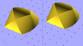 Cylinder Thing Rotated - solid model