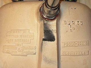 Bathroom sink by American Regulator and Standard Sanitary